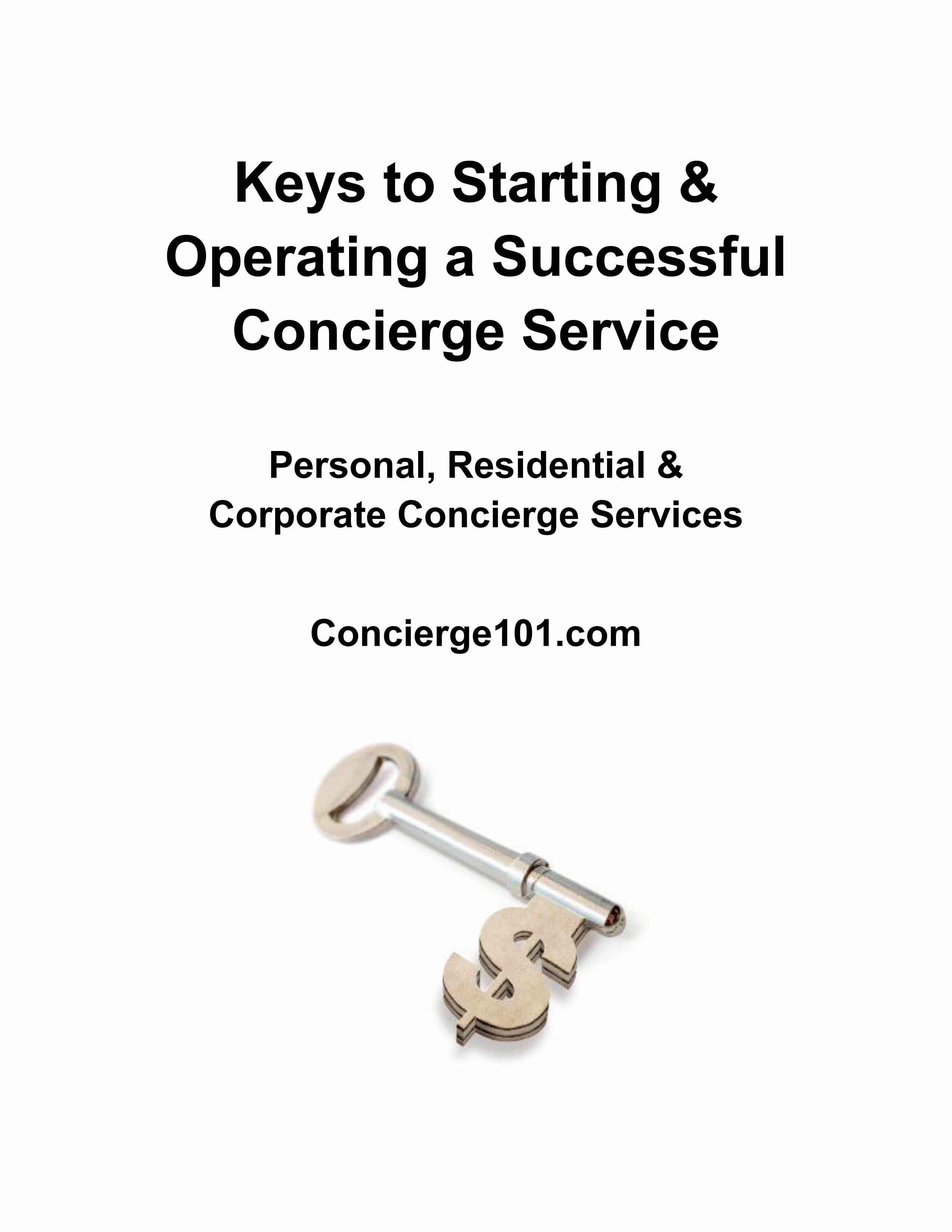 How to Start a Concierge Business or Errand Service - Find Clients ...